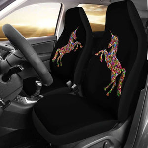 Unicorn Love Car Seat Covers Amazing Gift Ideas 170817 - YourCarButBetter