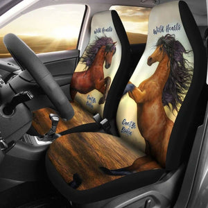 Wild Hearts Can'T Be Broken Car Seat Covers For Horse Lovers 170804 - YourCarButBetter