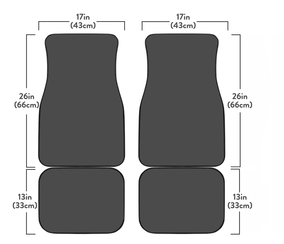 Green Range Car Floor Mats