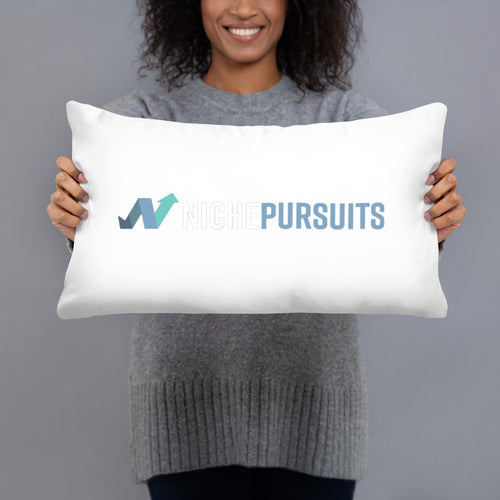 Niche Pursuits Basic Pillow