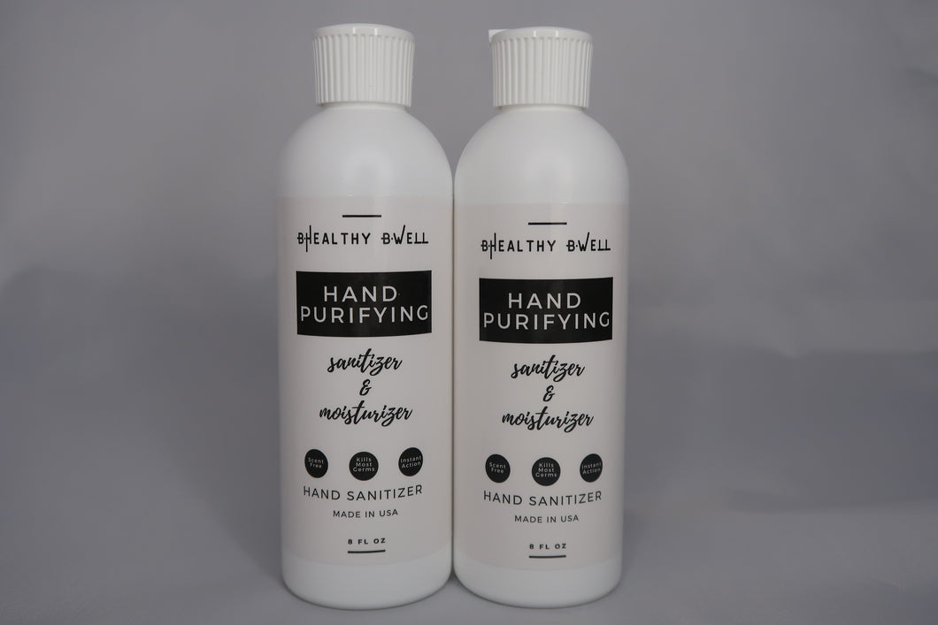Hand Sanitizer | 8 Ounces | Set of 2
