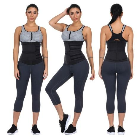 Women's Waist Trainer Corset Sporty Belt Body Shaper