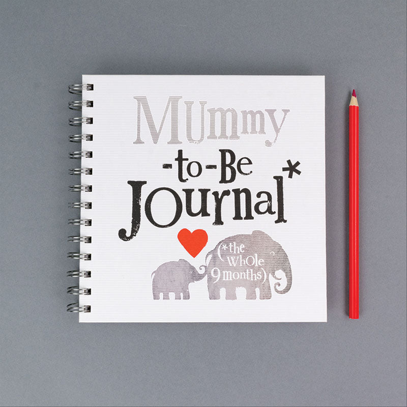 Mummy To Be Memory Journal Gift for new mums