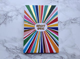 Bright Ideas Multicolour Mini Notebook