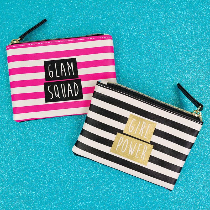 Girl Power Glam Squad Zip Pouch