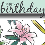 Lily Happy Birthday Card