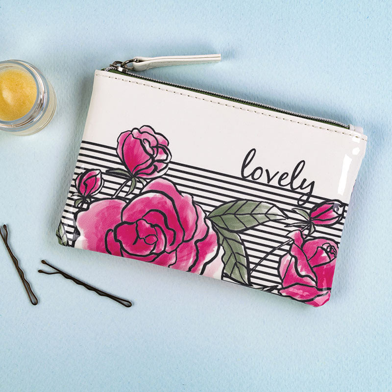 Lovely Floral Change Purse