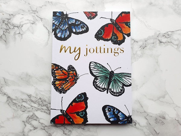 My Jottings Butterfly Mini Notebook