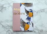 My Notes Bird Mini Notebook