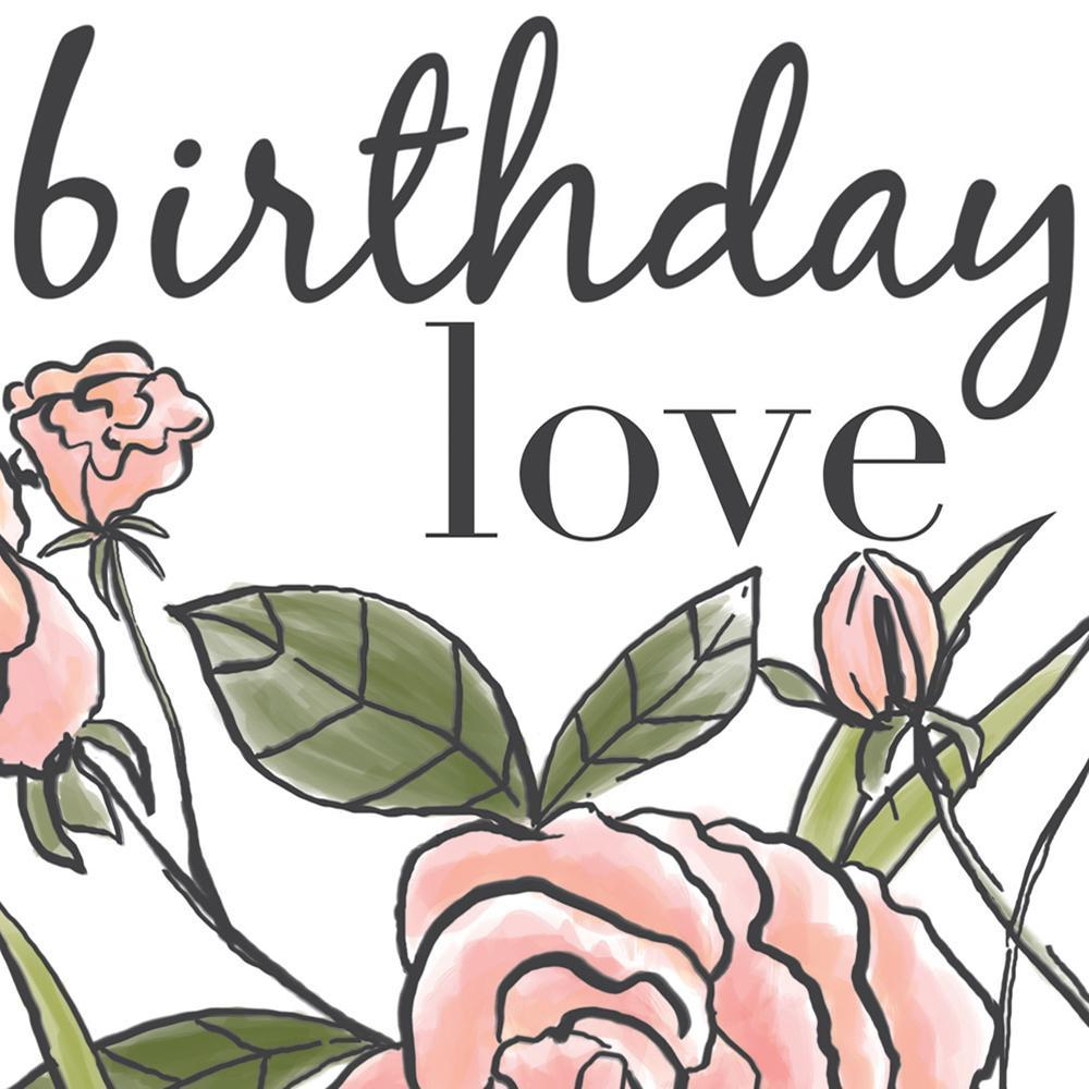 Rose Birthday Love Card