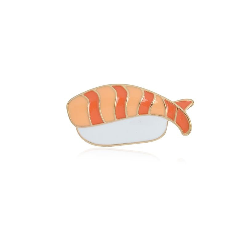 Sushi Mama enamel pin badges