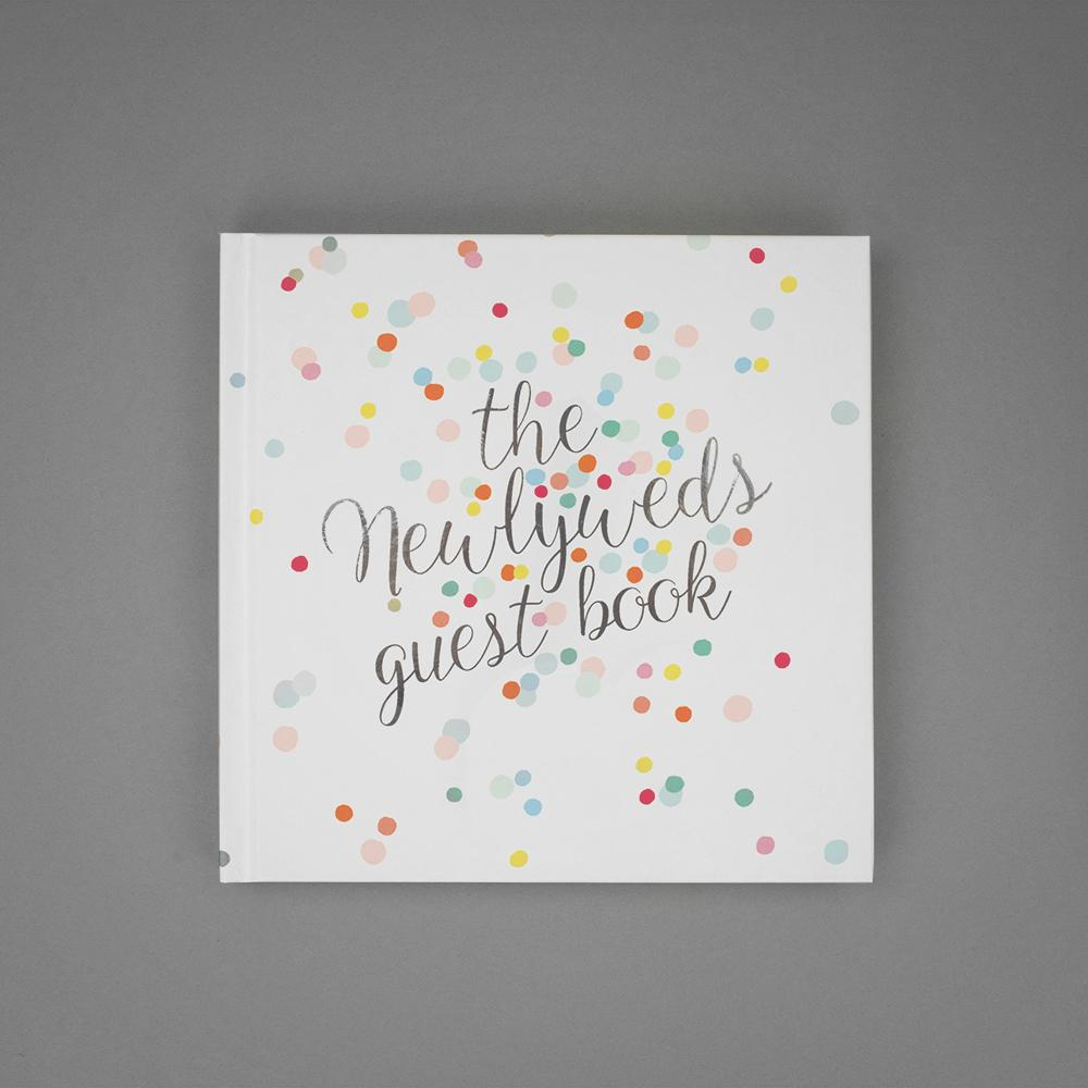The Newlyweds Wedding Guest Book
