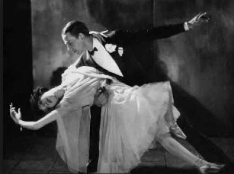 Fred and Adele Astaire Vintage Dancers