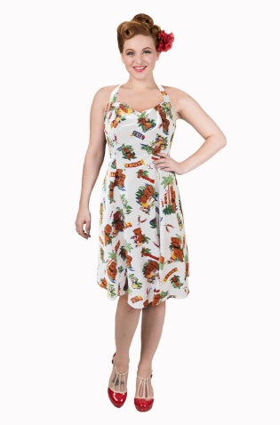 Dreamer Halterneck Tiki Dress