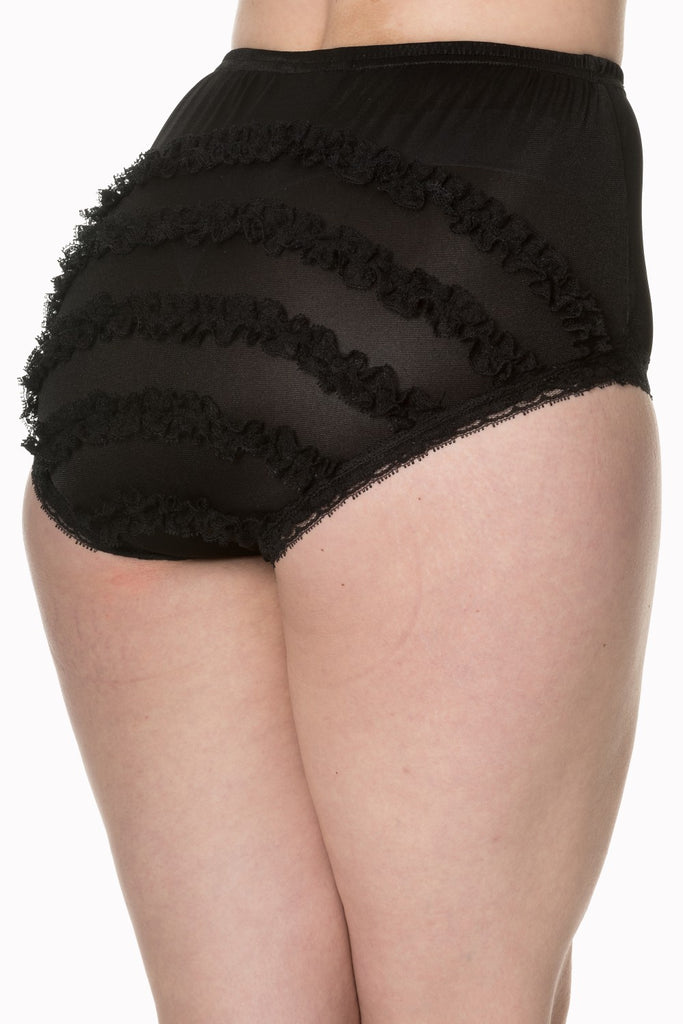 Frills Are Fun High Waist Knickers