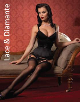 Diamante Lace Corsetry Collection
