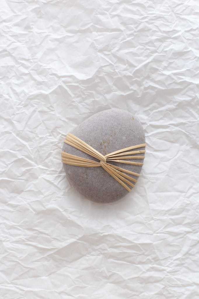 Medium Wrapped Stone by Mindful Objects