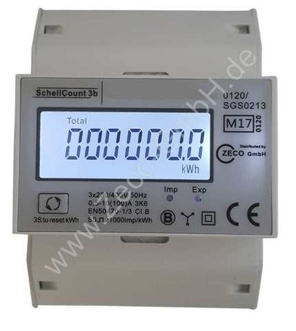 Schell - 430272 - kwh meter - 100A - MID - LCD