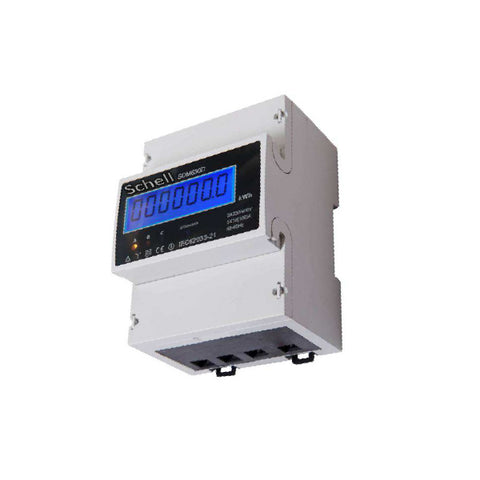 Schell - 4110100 - kwh meter - 100A - LCD