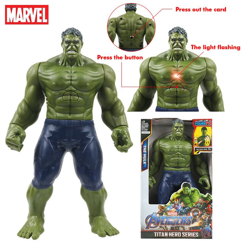 12''/30cm Marvel Avengers Titan Hero Tech Hulk Action Figure