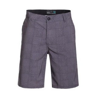 Mens Gray Hybrid Shorts