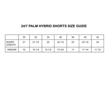 Load image into Gallery viewer, 24/7 Palm Hybrid Swim Short