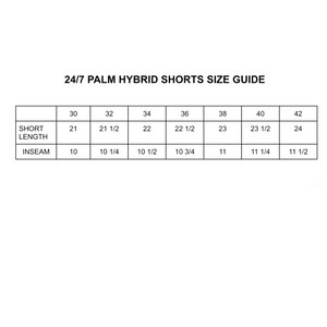 24/7 Palm Hybrid Swim Short