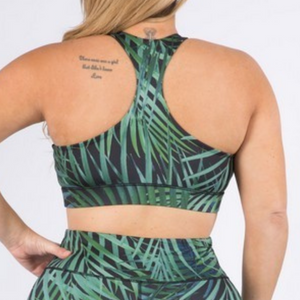 Palms for Days Sports Bra