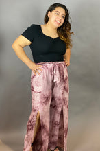 Load image into Gallery viewer, Everything is Rosy Tie Dye Pants
