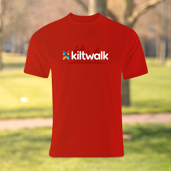 liltwalk red logo t-shirt