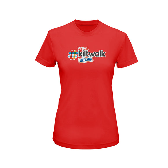 Fitted Virtual Kiltwalk T-Shirt