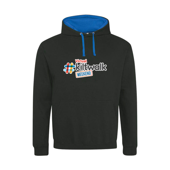 Black & Blue Virtual Kiltwalk Hoodie