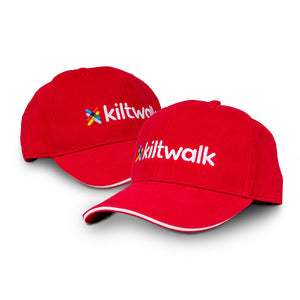 kiltwalk embroidered baseball cap