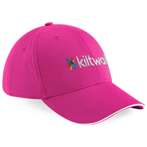 Pink Kiltwalk Embroidered Baseball Cap
