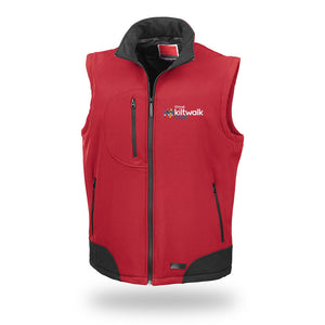 Embroidered Softshell Gilet - Virtual Dundee