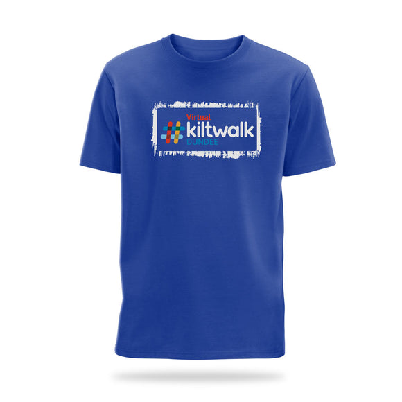 virtual kilktwalk dundee event t-shirt