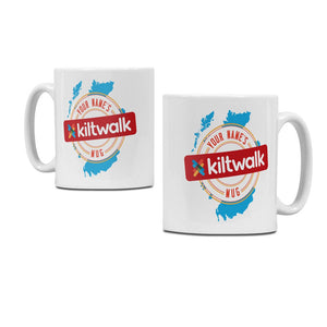 Personalised Kiltwalk Event Ceramic Mug