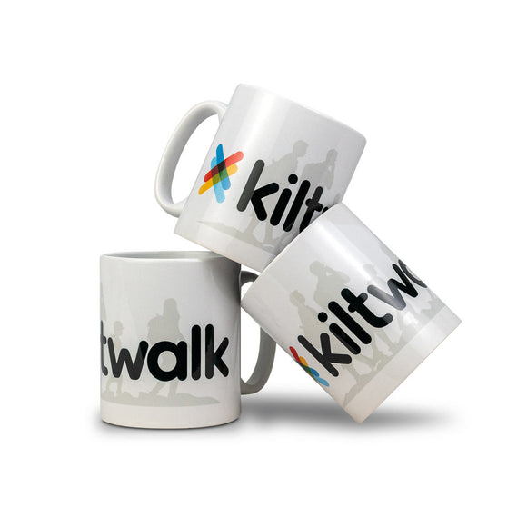 kiltwalk event mug 2020