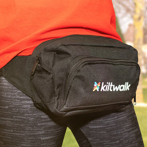 kiltwalk embroidered organiser waistpack