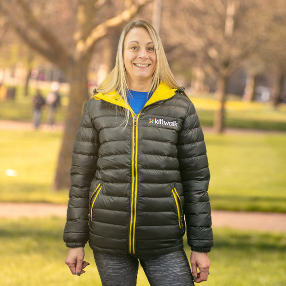 kiltwalk padded jacket
