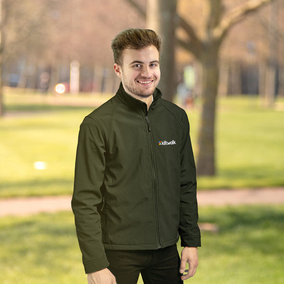 kiltwalk embroidered softshell jacket