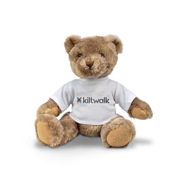 Kiltwalk Teddy Bear with branded tee