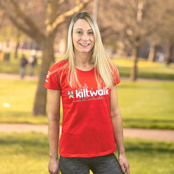 kiltwalk womens event t-shirt