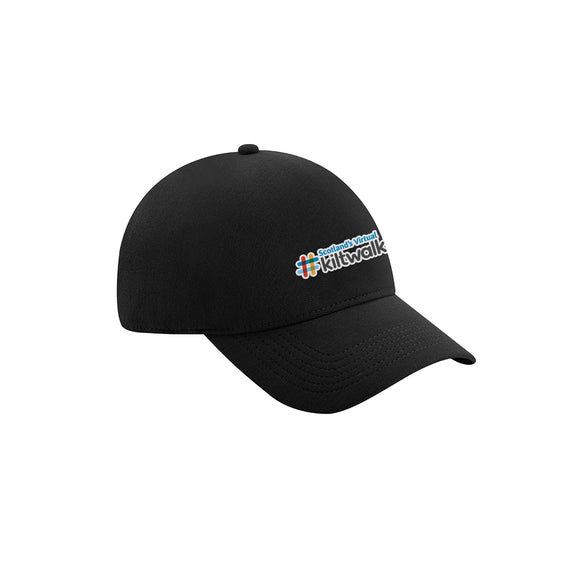 Scotland's Virtual Kiltwalk Waterproof Cap Black
