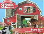 Busy Barn Floor Puzzle