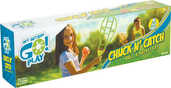Chuck N' Catch Ball & Racket Set