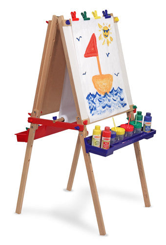 Deluxe Magnetic Standing Art Easel Toy Town Of Cadillac