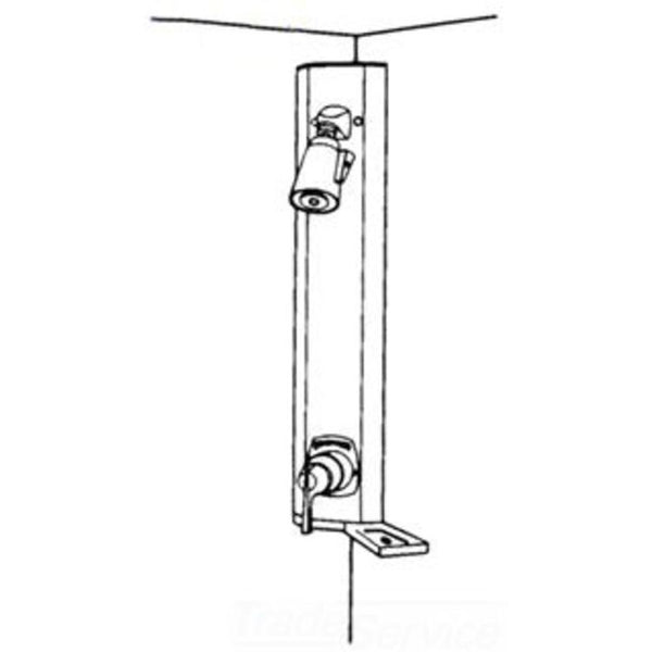 "#1-807S - Symmons ""Hydapipe"" Exposed Shower Unit"