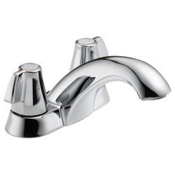 #DEL2510LF - Delta Two Handle Centerset Bathroom Faucet