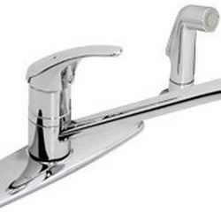 #S-23-2-BH - Symmons  Single Handle Kitchen Faucet w/spray